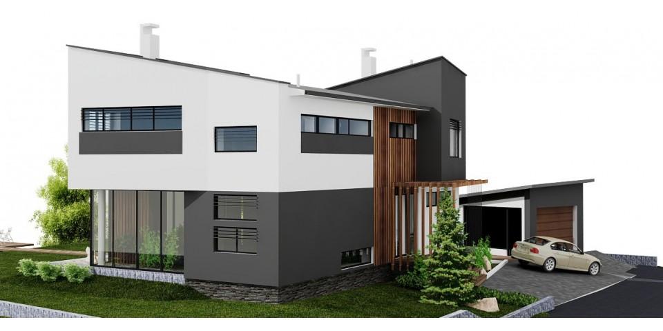 Nízkoenergetický Dom Dom Vo Svahu